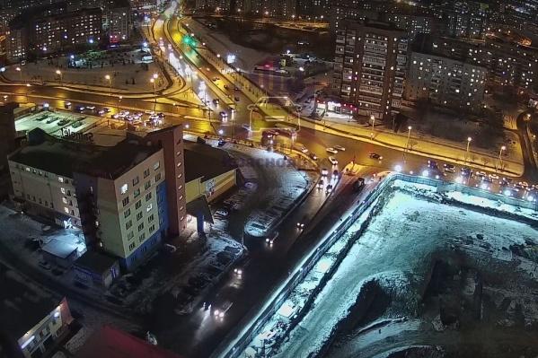 Авария произошла на Краснодарской