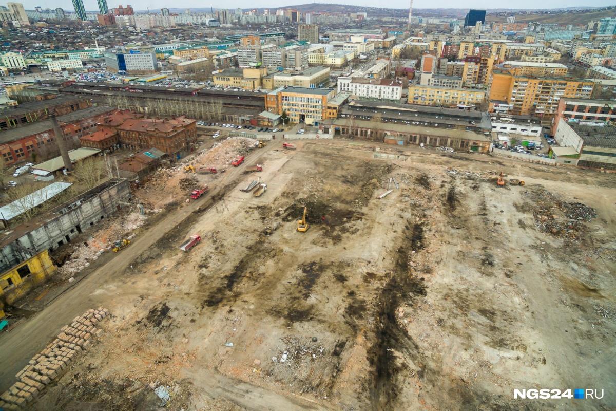 Здесь должны появиться первые дома с «огромными квартирами, открытыми лоджиями и подземными парковками»