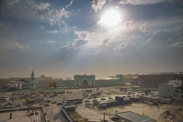 Впервые за последнюю неделю воздух в Новосибирске стал чистым и безвредным