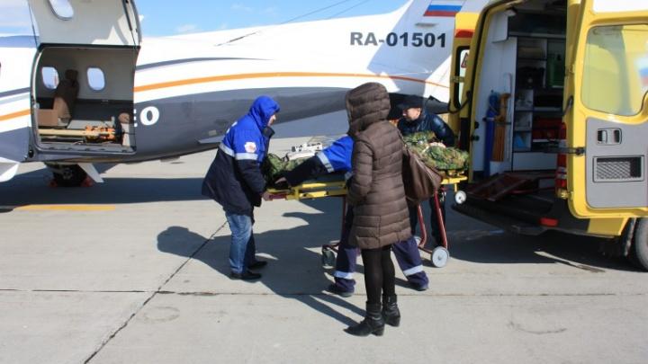 В Красноярск перевезли последнего пострадавшего туриста в ДТП по дороге в Шерегеш