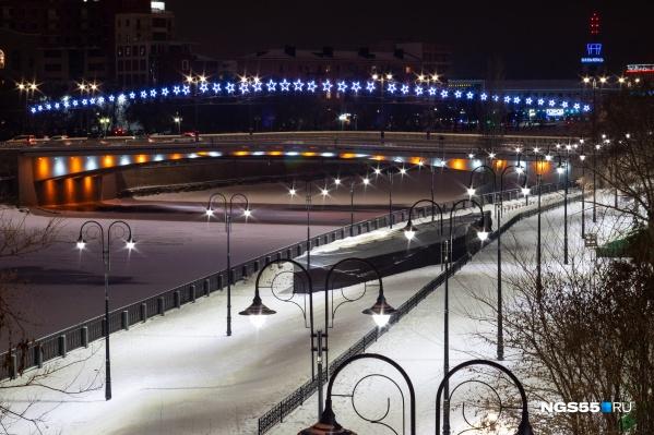 С Комсомольского моста сейчас открывается прекрасный вид. Но к благоустройству на Бударина есть определённые вопросы