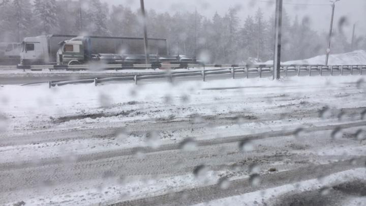 «Небольшие, местами умеренные»: на Челябинскую область идут снегопады