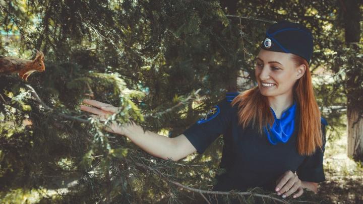 Рыжая следователь признана красивейшей сотрудницей красноярской полиции