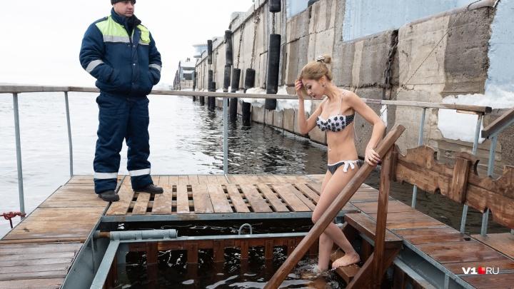 «Более 500 полицейских»: на Крещение в Волгоградской области сделали 41 купель