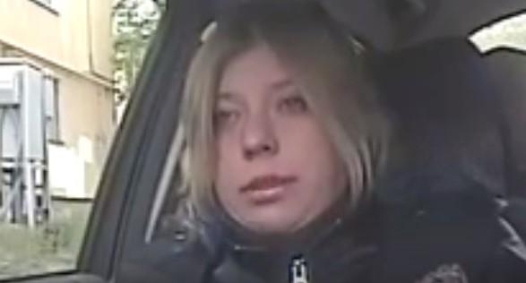 В Екатеринбурге мотопатруль поймал пьяную байкершу