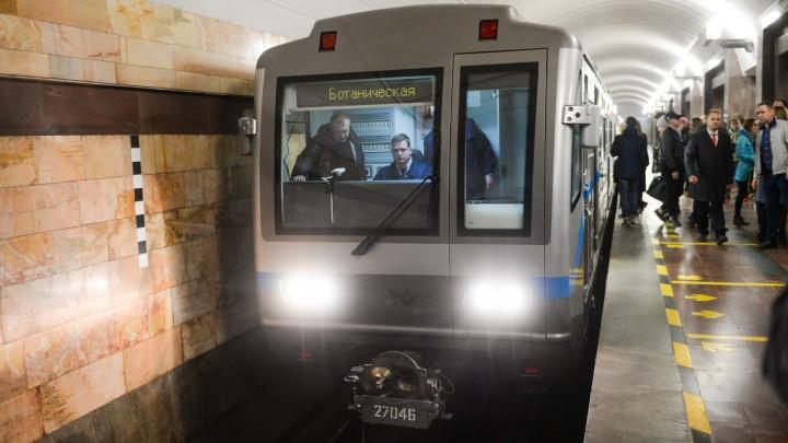 Комфортно и стильно: как встретили пассажиры метро новые составы, появившиеся в Екатеринбурге