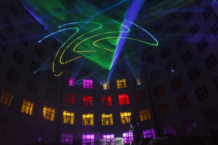 В гостинице «Исеть» пройдет светомузыкальный перформанс