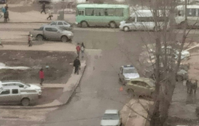 В Уфе в микрорайоне Инорс сбили парня