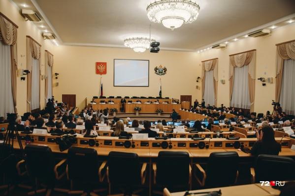 Валерий Фальков в областной думе возглавлял комитет по социальной политике