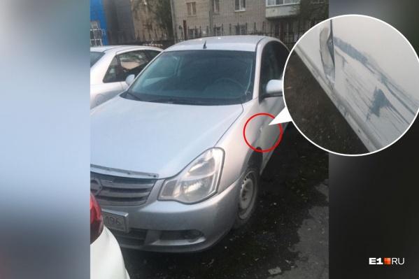 Поврежденный автомобиль простоял два с лишним месяца на штрафстоянке, а его хозяйка в это время думала, что он продается в автосалоне