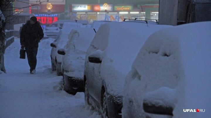 Снежное начало недели: синоптики рассказали о погоде в Башкирии на 26 ноября