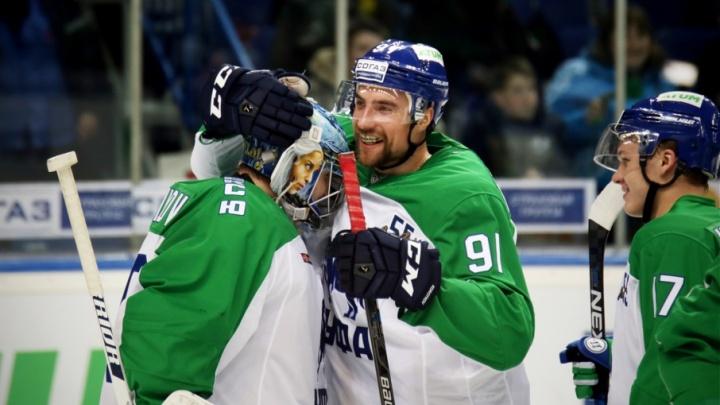 Хоккеисты «Салавата Юлаева» рассказали,  как будут громить противника в новом сезоне КХЛ