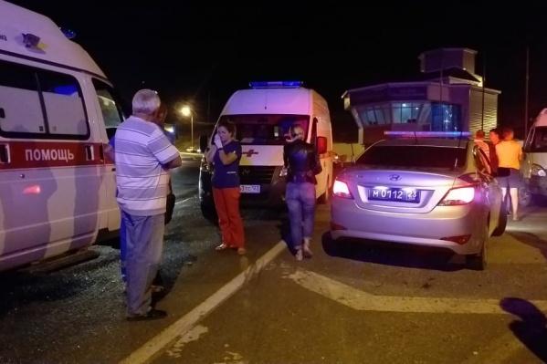 Авария произошла вечером 7 августа