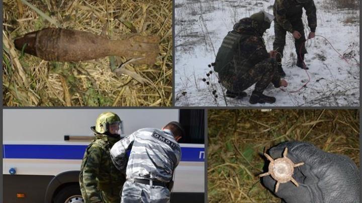 В Башкирии фермер нашел артиллерийскую мину