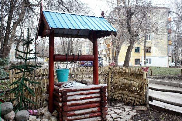 Малые архитектурные формы выберут жители двора
