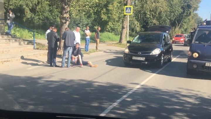 На Уктусе водитель легковушки сбил подростка