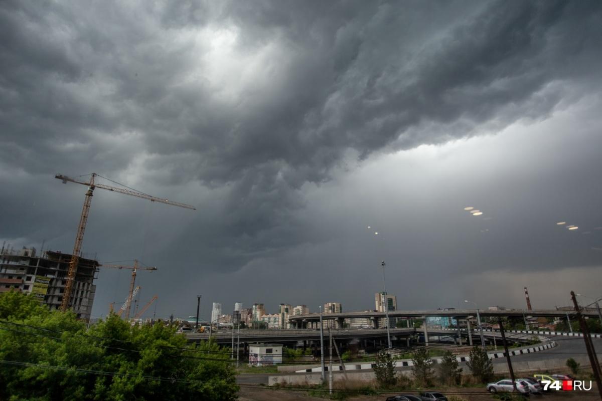 Непогода придёт на Южный Урал уже сегодня днём