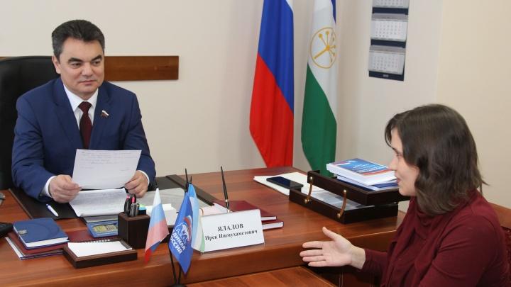 Ирек Ялалов обещал помочь многодетной маме из Уфы получить достойное жилье