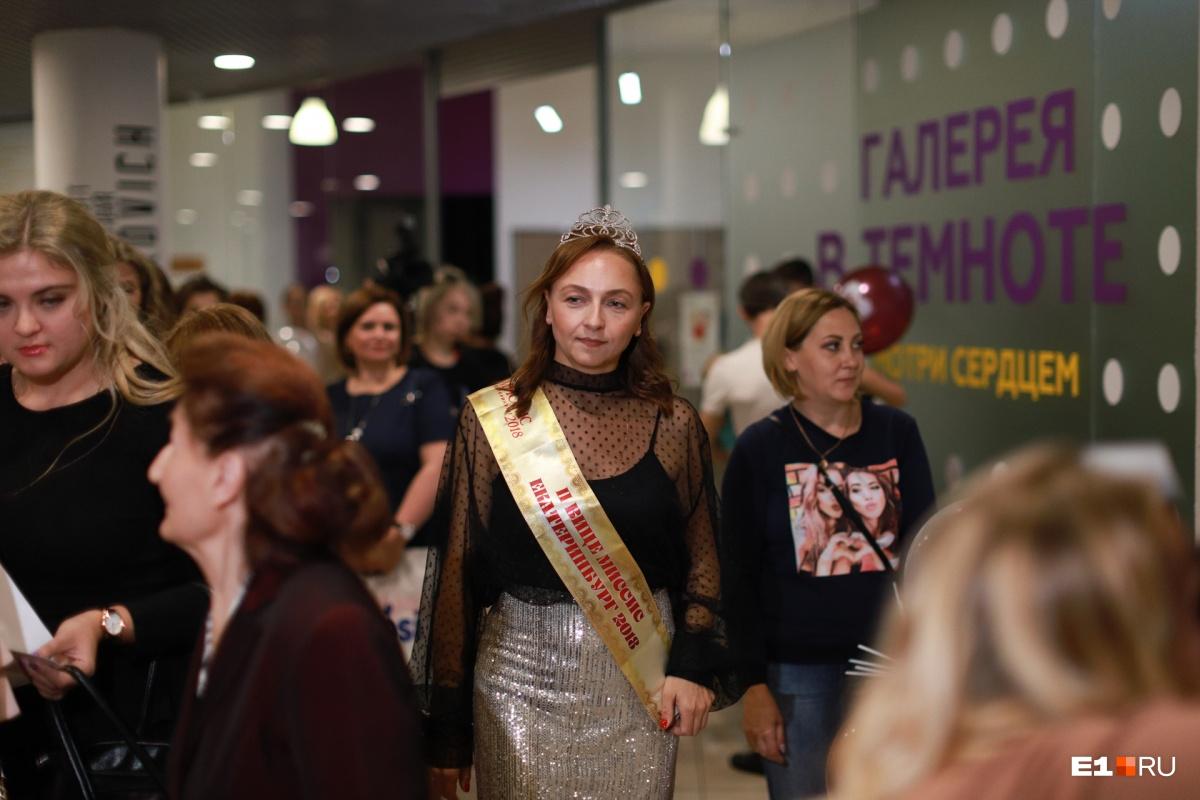 Поддержать девушек пришла вице-миссис Екатеринбург прошлого года