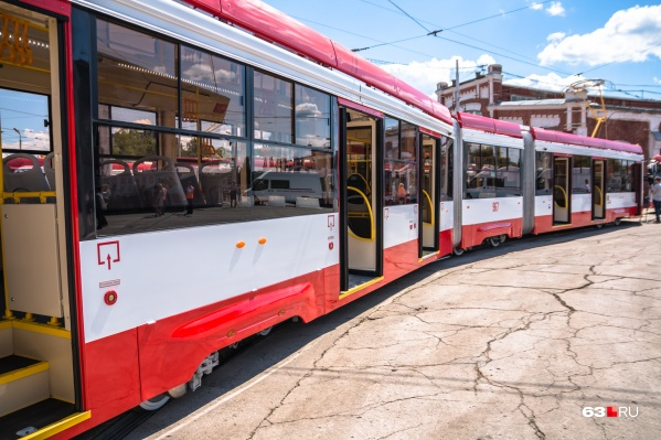 Трамваи закупили в 2016 году