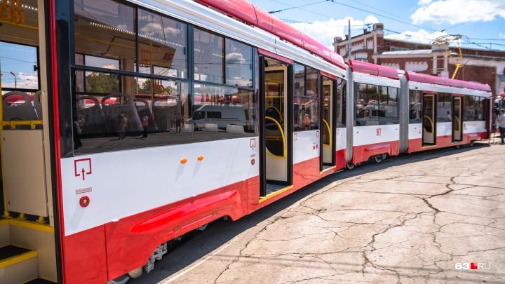 Самара получит 174 миллиона рублей на оплату трехсекционных трамваев