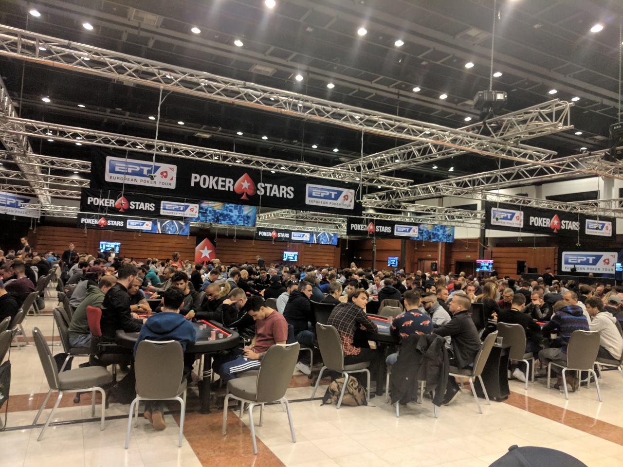 Этап Европейского покерного тура в Праге, куда мечтает попасть Сергей