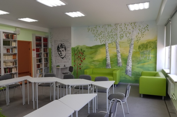 Кабинет литературы в школе №144