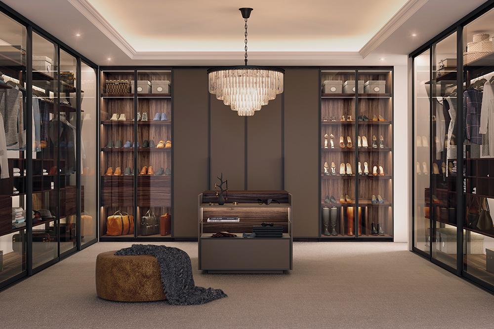 Мебель по индивидуальным проектам: гардеробные и застройка ниш
