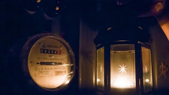 В начале новой недели сотни ростовчан останутся без света