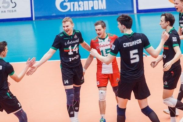 Новосибирские волейболисты заняли шестую строчку в турнирной таблице чемпионата