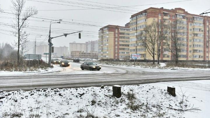 До перекрытия Тутаевского шоссе в Ярославле осталось меньше недели, но объезд ещё не готов