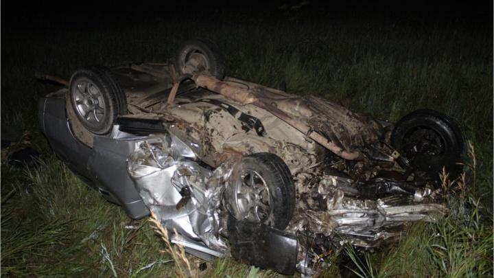 В лобовом столкновении двух Lada на трассе в Челябинской области погибли пять человек