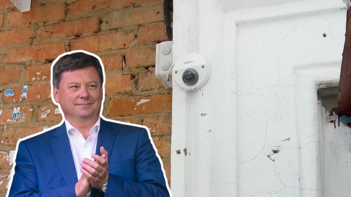 Бесполезный дар от Фурсова: поставленные во дворах камеры не подключили к системе«Безопасный город»
