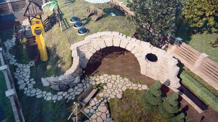 «Окунём детей в деревенскую жизнь»: под Челябинском построят домик хоббита