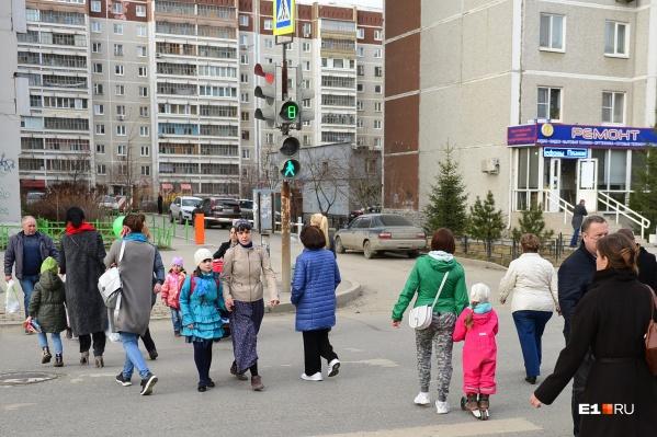Для пешеходов установят светофоры с таймерами