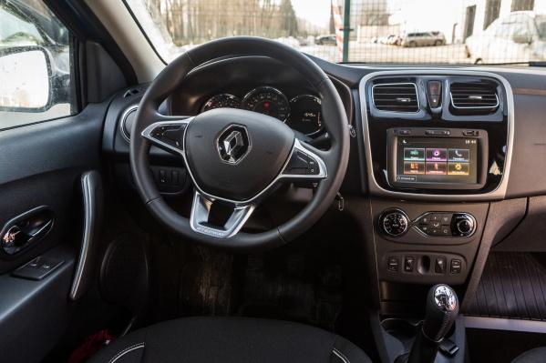 Renault Logan активно продается с механической КП
