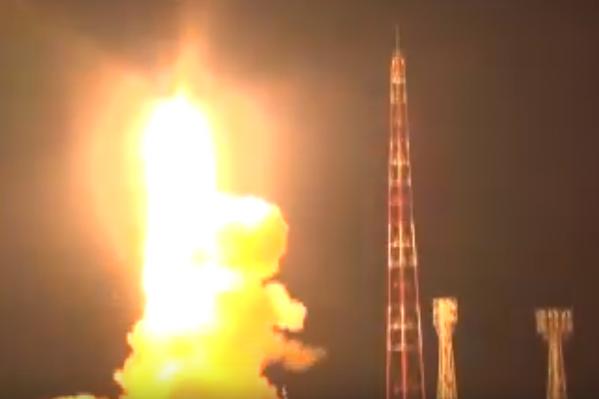 Ракету запустили с полигона Капустин Яр