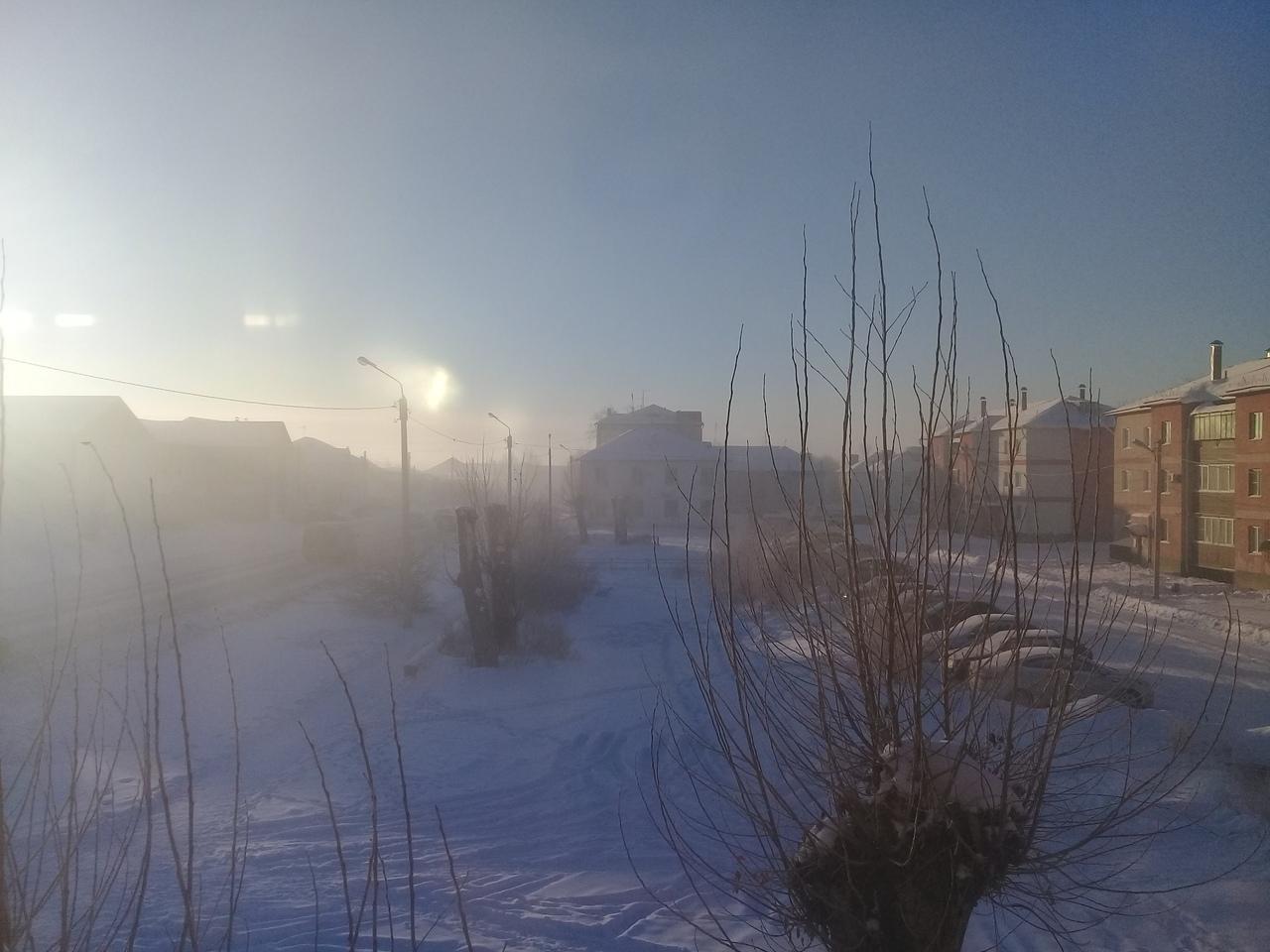 В последние месяцы город окутан дымкой