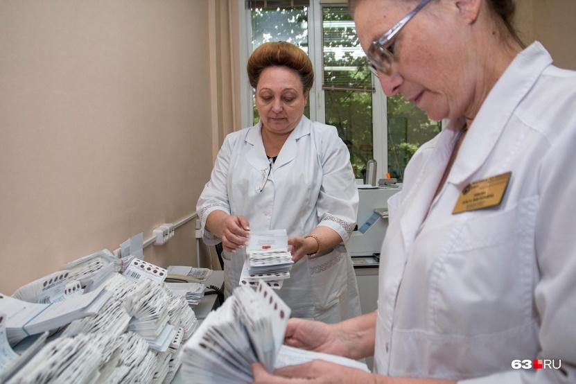 Анализы крови новорожденных на 5 заболеваний хранят в архивах