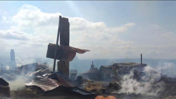 Видео: как выглядит деревня Каменка после взрыва на складе боеприпасов