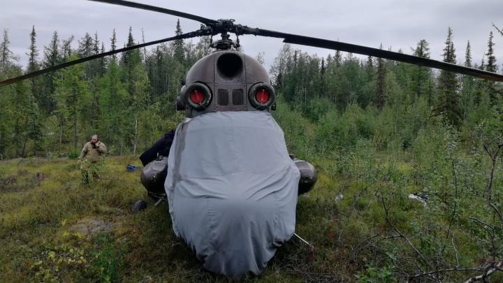 Красноярец прилетел в Игарку на своём вертолёте и летал без разрешения