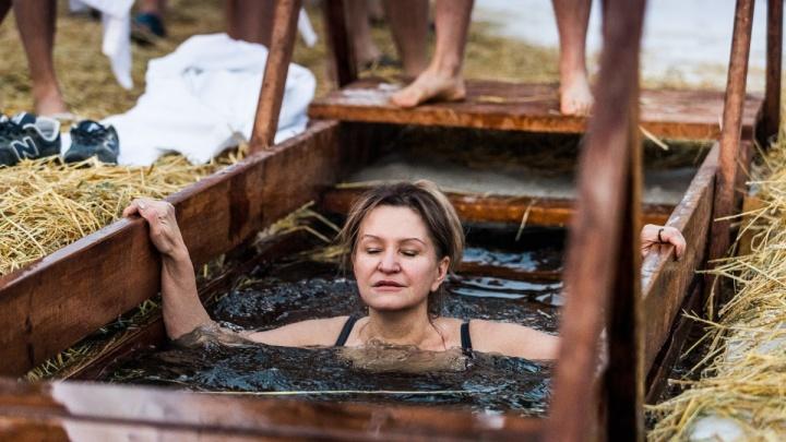 39,5 тысячи новосибирцев окунулись в ледяную воду: самая популярная купель оказалась на Юго-Западном
