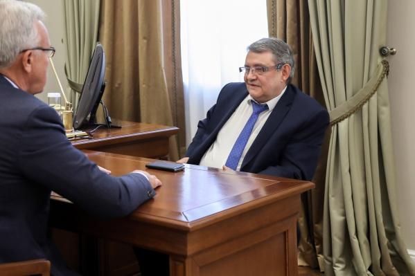 Егор Оль был на месте главы с марта 2010 года