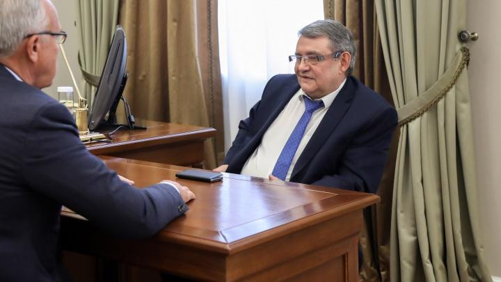 Мэр Дивногорска ушёл в отставку