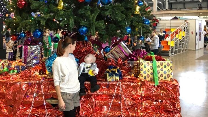 В Екатеринбурге нашли новогодний рай для карапузов