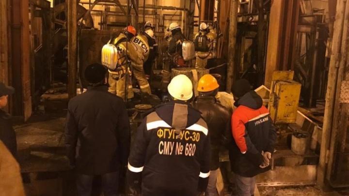 Тела всех девяти погибших на шахте в Соликамске горняков подняли на поверхность