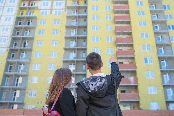 Юля и Влад приехали выбрать свою первую квартиру в жилом комплексе «Новая Ботаника»