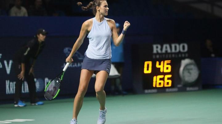 Во втором круге: волгоградка Вихлянцева успешно стартовала в основной сетке Australian Open