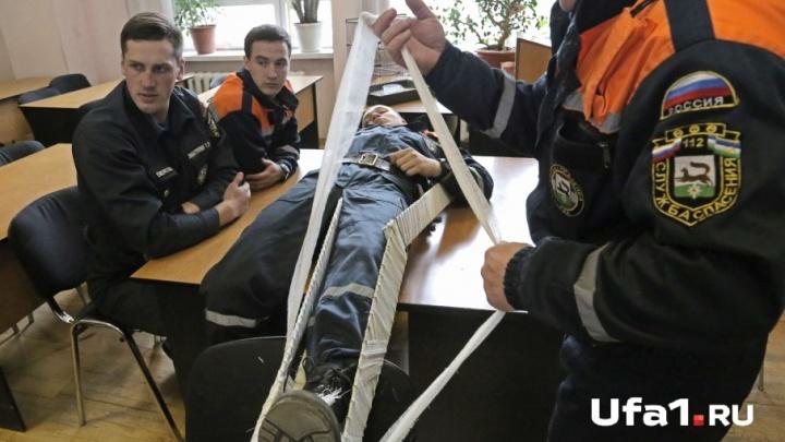 Уфимских школьников отведут к пожарным и спасателям