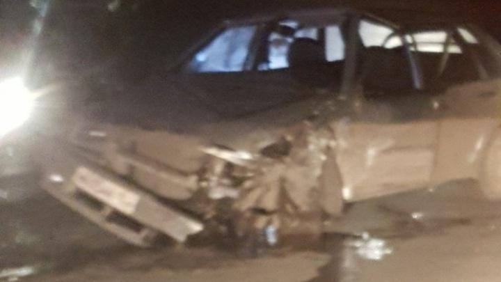 Под Уфой водитель ВАЗ-2115 уснул за рулем и врезался в  «Мазду»
